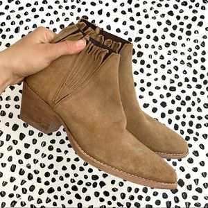 Free People Farylrobin Trill suede ankle bootie
